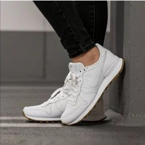 Women's Nike Internationalist White Sneakers